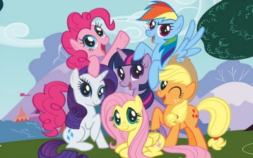 My little Pony Friendship is Magic, Hasbro
